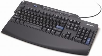 Business Black Enhanced Performance Keyboard 73P2632