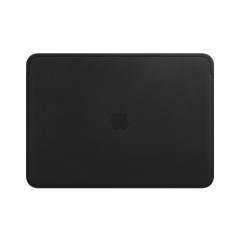 Lederhülle für 13 MacBook Air und MacBook Pro – Schwarz